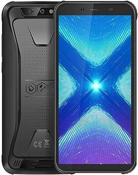 N / A UNA Teléfono Inteligente 3 GB + 32 GB Android 10.0 IP68 a Prueba de Agua Smartphone Reforzado 5.5 teléfono móvil 4400mAh 4G Pantalla Completa (Color : Negro): Amazon.es: Electrónica