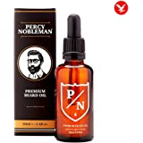 Olio da Barba Percy Nobleman - Il nostro olio idratante si assorbe rapidamente per ammorbidirti La barba (50ml)