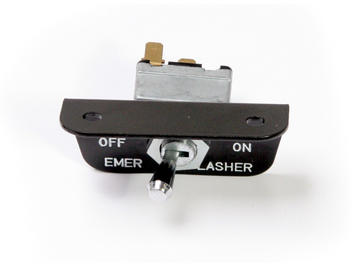 Mustang Switch Emergency Flasher In Glove Box After 3-1-66 1966 Daniel Carpenter Mustang Reproductions