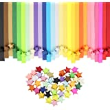 Origami star papers package  Lucky Star Paper  Folding Strip - 27 Colors  540 sheets