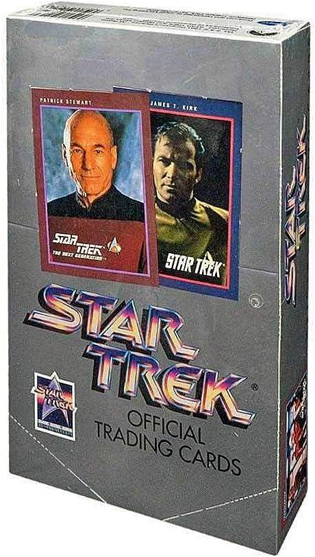Impel 1991 2 Trading Cards TOS Lot of 2 Packs Star Trek 25th Anniversary Ser