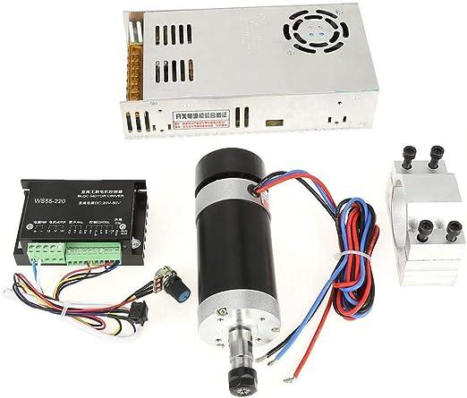 motor Motor potencia para m/áquina de grabado controlador de motor Kit de controlador de controlador de motor accesorio controlador de controlador CNC ER11 500W