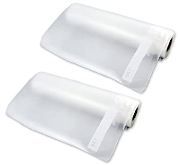 2 Pack 11quot Fresh Vacuum Sealer Bags 11 Inch Extra Large Seal Rolls
