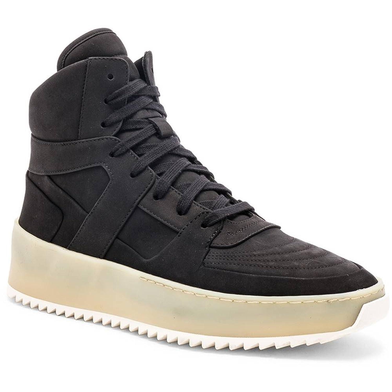 (フィアオブゴッド) Fear of God メンズ シューズ靴 スニーカー Nubuck Basketball Sneakers [並行輸入品] B07F7BWNG2