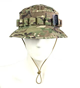 ed601bca61281 ZAPT Boonie Hat Military Camo Cap Hunter Sniper Ghillie Bucket Hats  Adjustable Jungle Bush Hat (