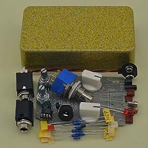 ttone diy compressor effect pedal guitar stomp pedals kit musical instruments. Black Bedroom Furniture Sets. Home Design Ideas