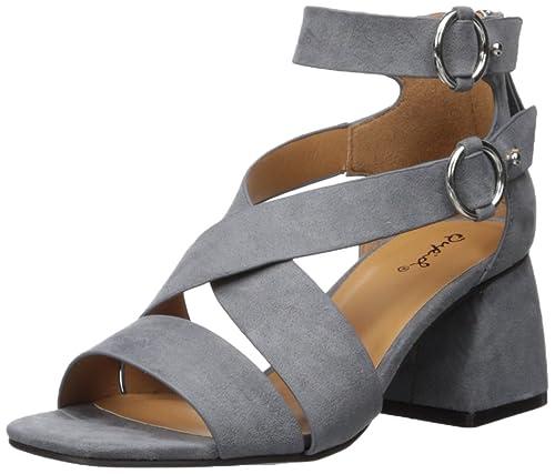 72ac7e39dca7 Qupid Women s CRAY-06 Heeled Sandal