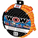 World of Watersports WOW 4K 60 Foot Tow Rope (1-4 Riders) 11-3010