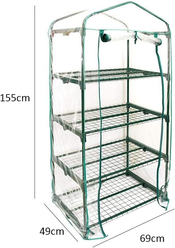 Zunbo - Invernadero de jardín (3/4/5 capas, revestimiento de PVC)