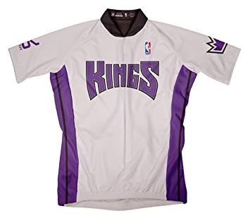 new product 84d40 c1ef8 Mens NBA Sacramento Kings Home Cycling Jersey by VOmax (XS ...