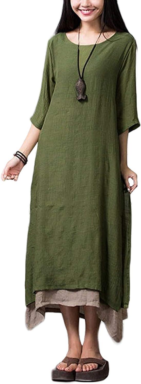 Romacci Donna 3//4 Sleeve Vestito