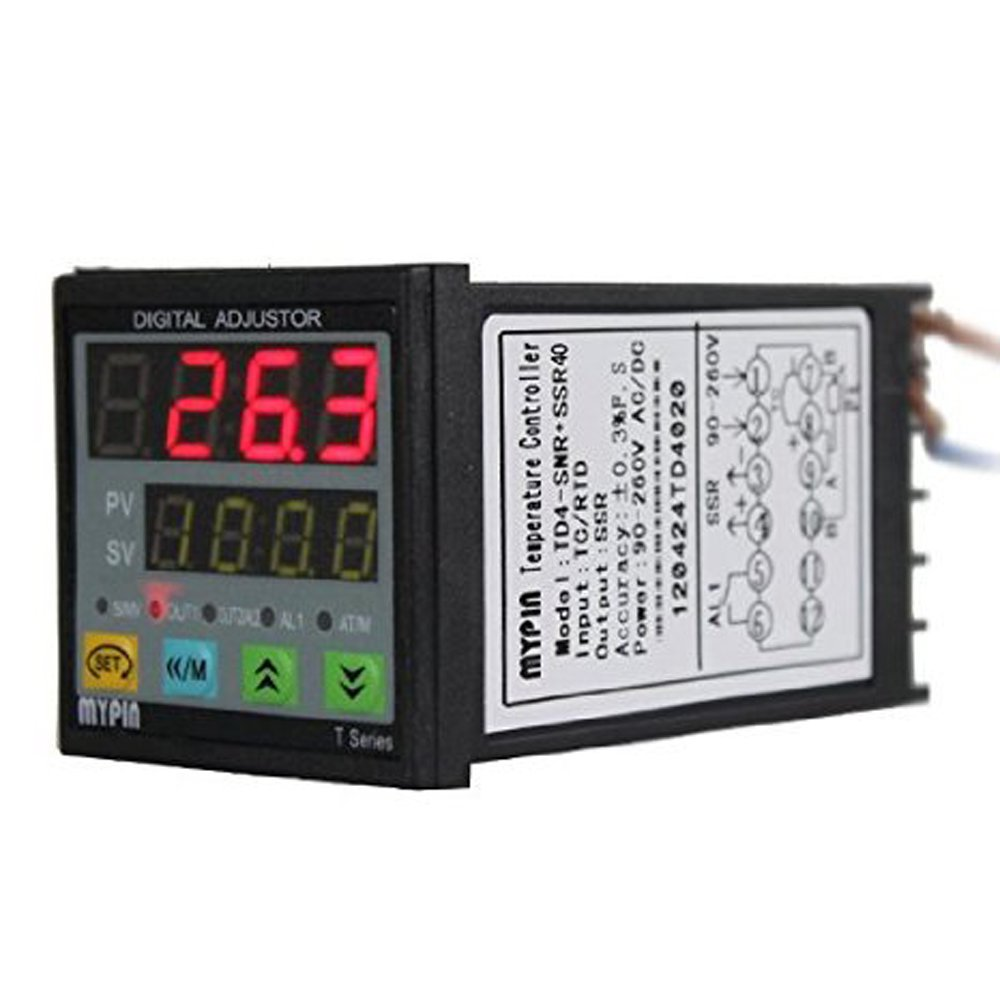 Manual Auto Tuning Pid Adjustment Temperature Controller Snr And Solid State Relay Youtube Ssr 40da Industrial Scientific