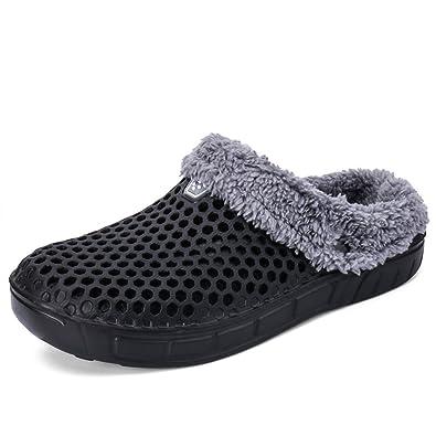 941e9b0483df ALEADER Mens Womens Garden Clogs Lightweigth Summer Sandals Winter ...