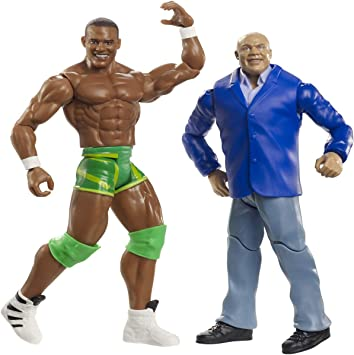 WWE- Pack de 2 Figuras de acción Kurt Angle y Jason Jordan (Mattel GBN52), Multicolor: Amazon.es: Juguetes y juegos