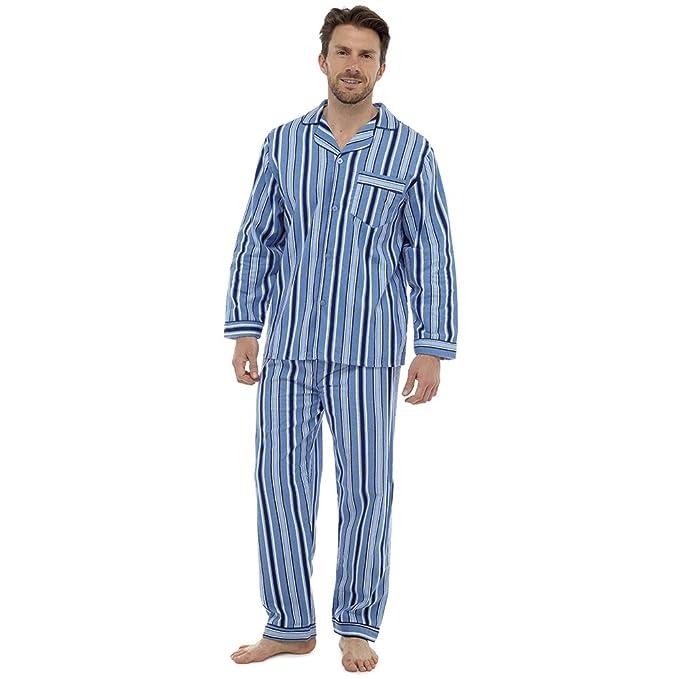 Pijama térmico Kentex para hombre, de franela 100% franela de algodó