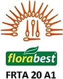 20Lame de rechange/Couteau/traceur ättchen/plastique couteau pour votre Flora Best frta 20A1Coupe-bordures sans fil Ian 282232Brosse