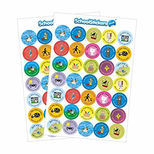 Nursery Rhymes Crafts - Nursery Rhyme Stickers-AMZ