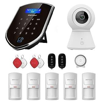 Sistema de seguridad para el hogar wolf-guard 3G / GSM Wifi (wm3gr ...