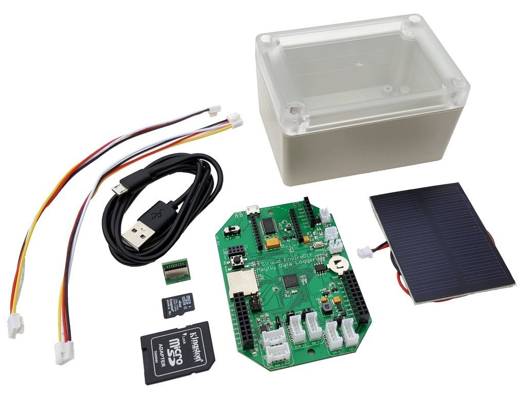 EnviroDIY Mayfly Data Logger Arduino Compatible Board and Starter Kit