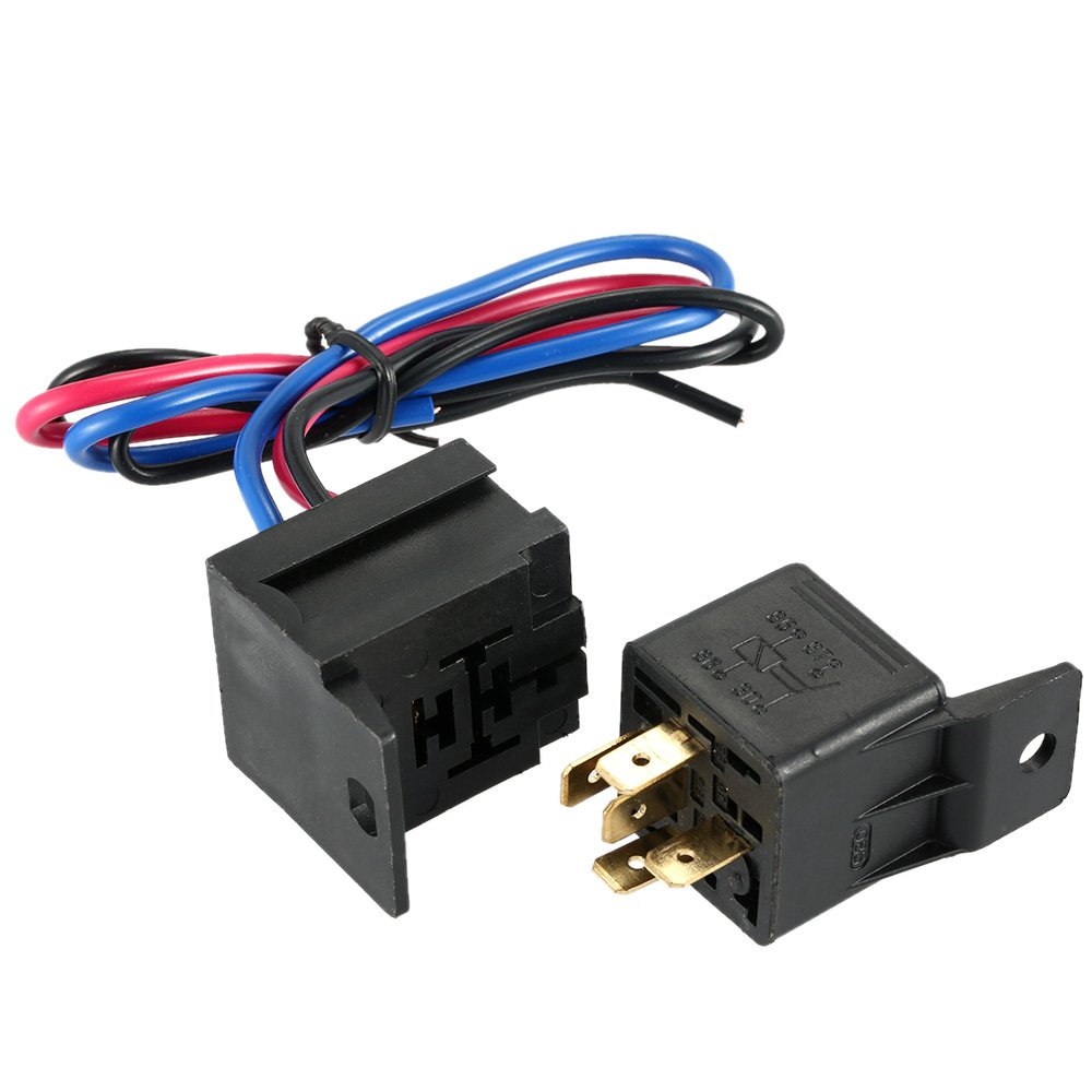 Kkmoon Racing Style Switch 12v Ignition Engine Start Push How To Wire A Toggle Button 3 Panel With Indicator