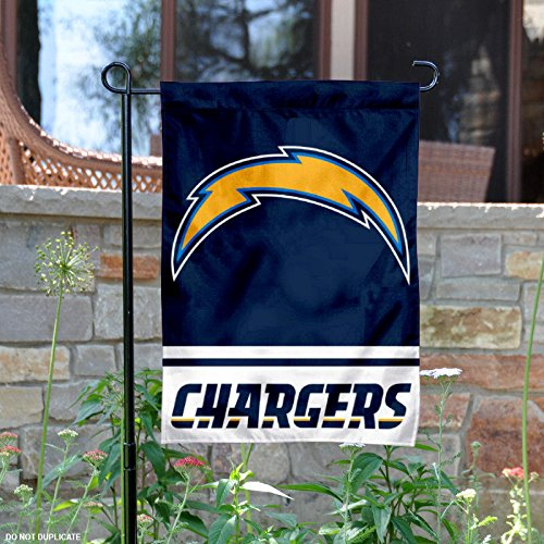 San Diego Chargers Flag: Los Angeles Chargers Garden Flag, Chargers Garden Flag