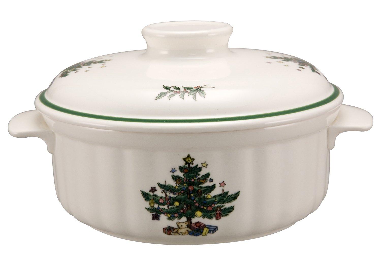 Nikko Christmas Ovenware 1.5 quart Casserole and lid: Amazon.ca ...