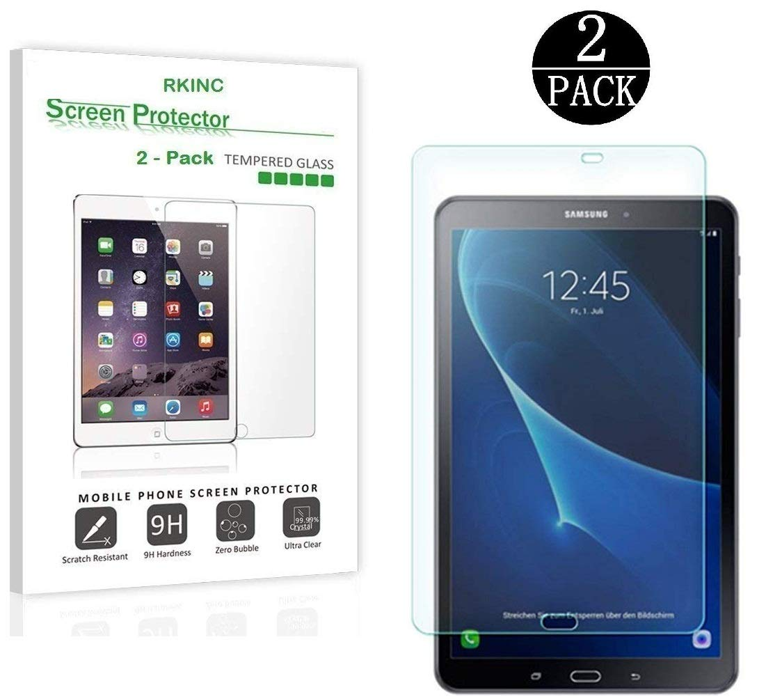 2 Pack Glass Screen Protector 2 Pack RKINC Samsung Galaxy Tab E 8.0 inch - Tempered Glass 8.0 inch for Samsung Galaxy Tab E Screen Protector