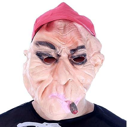 Fumar hombre fiesta máscara mascarada máscara de Halloween cosplay máscara