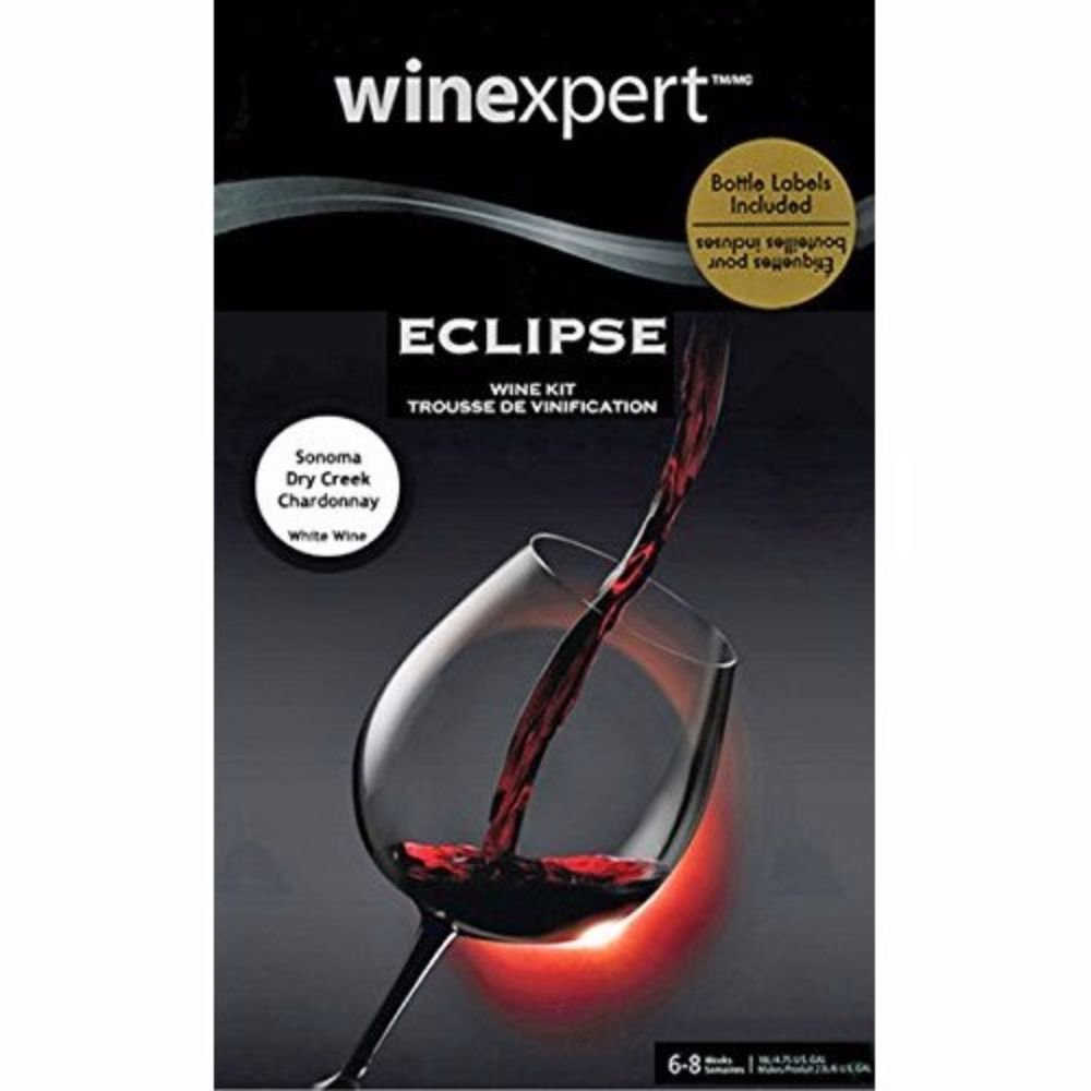 Wine Kit - Eclipse - Sonoma Dry Creek Valley Chardonnay by Winexpert Eclipse (Image #1)