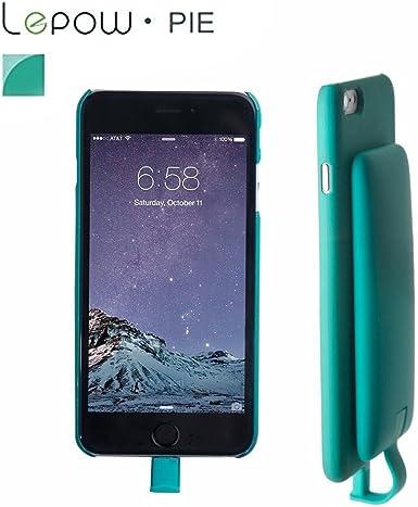 Lepow PIE 2 en 1 Smartphone Funda con Magnético Desmontable 3000 mAh Banco de la energía para iPhone 5S/5 C/5 Sandía Verde: Amazon.es: Electrónica