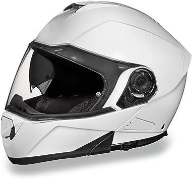 Approved Modular Helmets Glide Daytona Biker Helmet D.O.T
