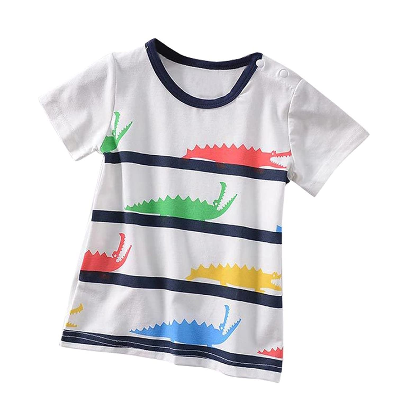 2Pcs Toddler Baby Girls Short Sleeve Letter Print Tops+Denim Skirts Outfits TM Girls Summer Sets,Jchen