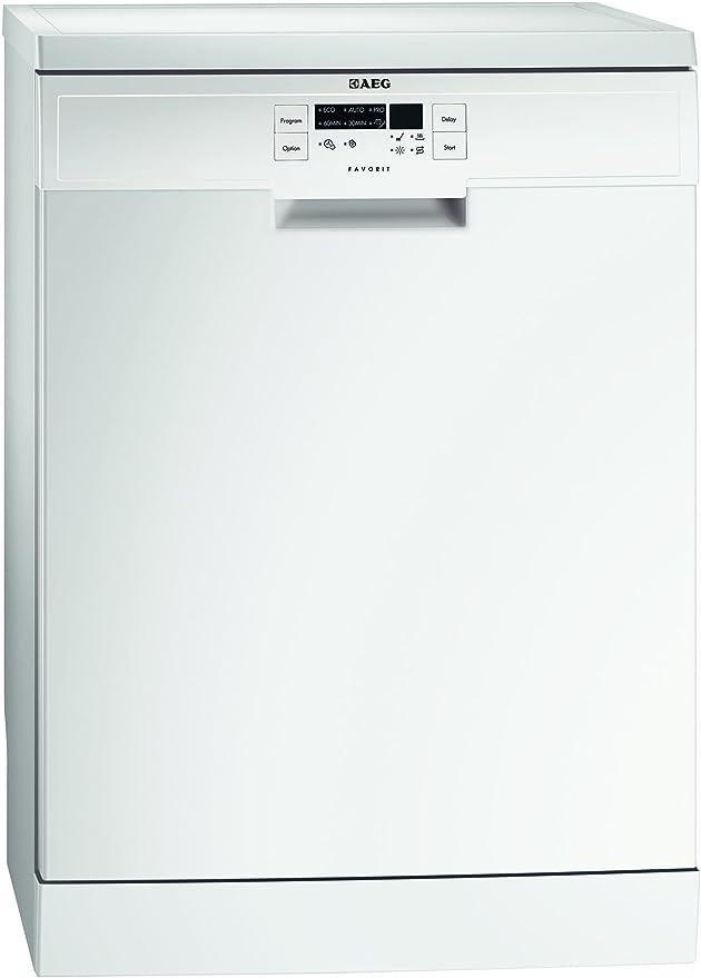 AEG F56312W0 - Lavavajillas Con 6 Programas: Amazon.es: Grandes ...
