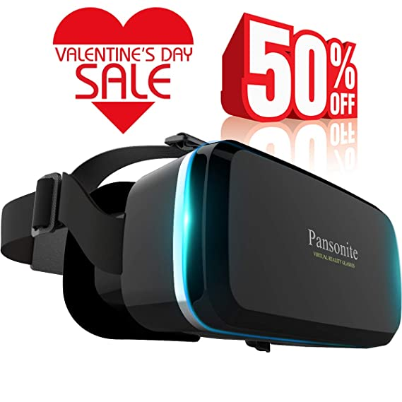 a48557b41585 Amazon.com  Pansonite Premium 3D VR Glasses with Adjustable Lenses ...