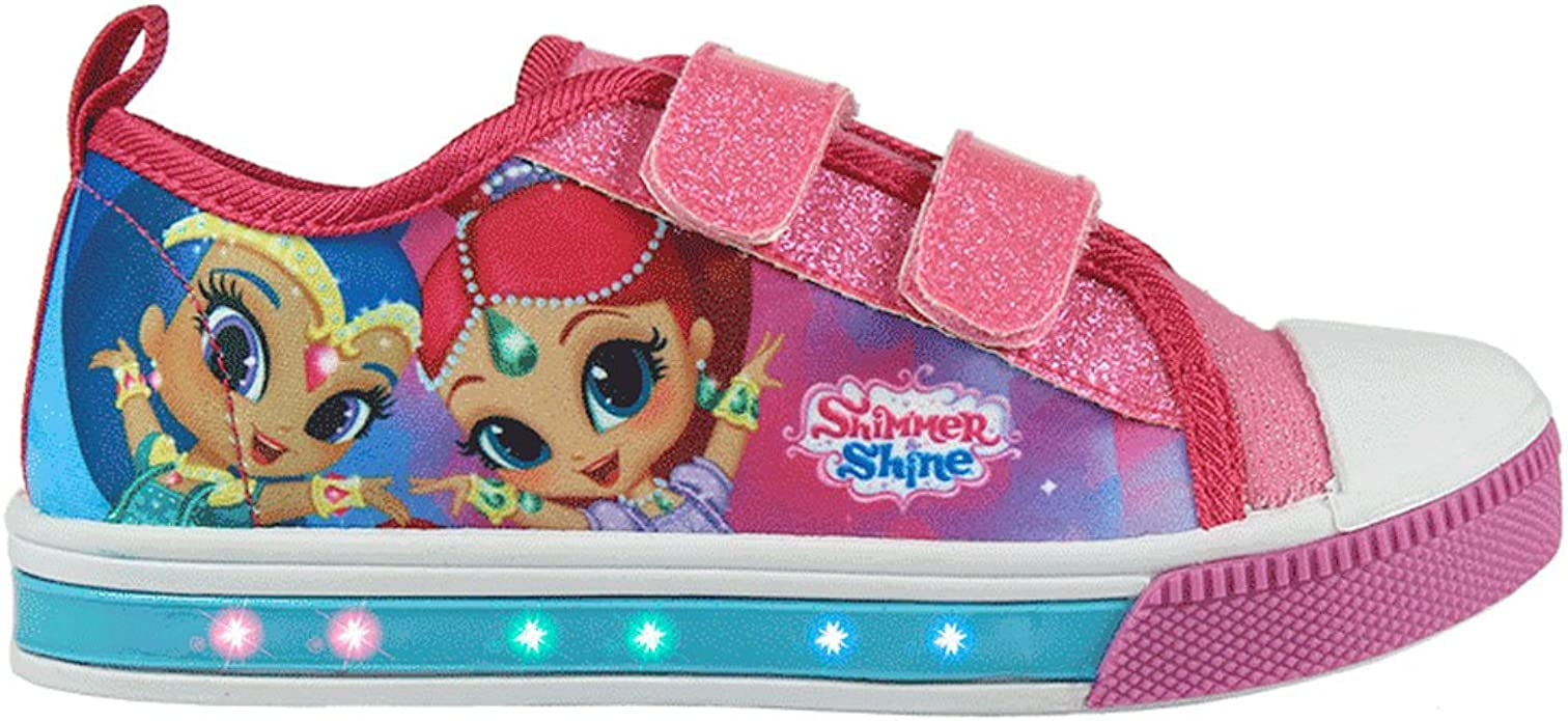 Shimmer and Shine - Zapatillas Deportiva - para niña - 23-2927 [Rosa - 30]: Amazon.es: Zapatos y complementos