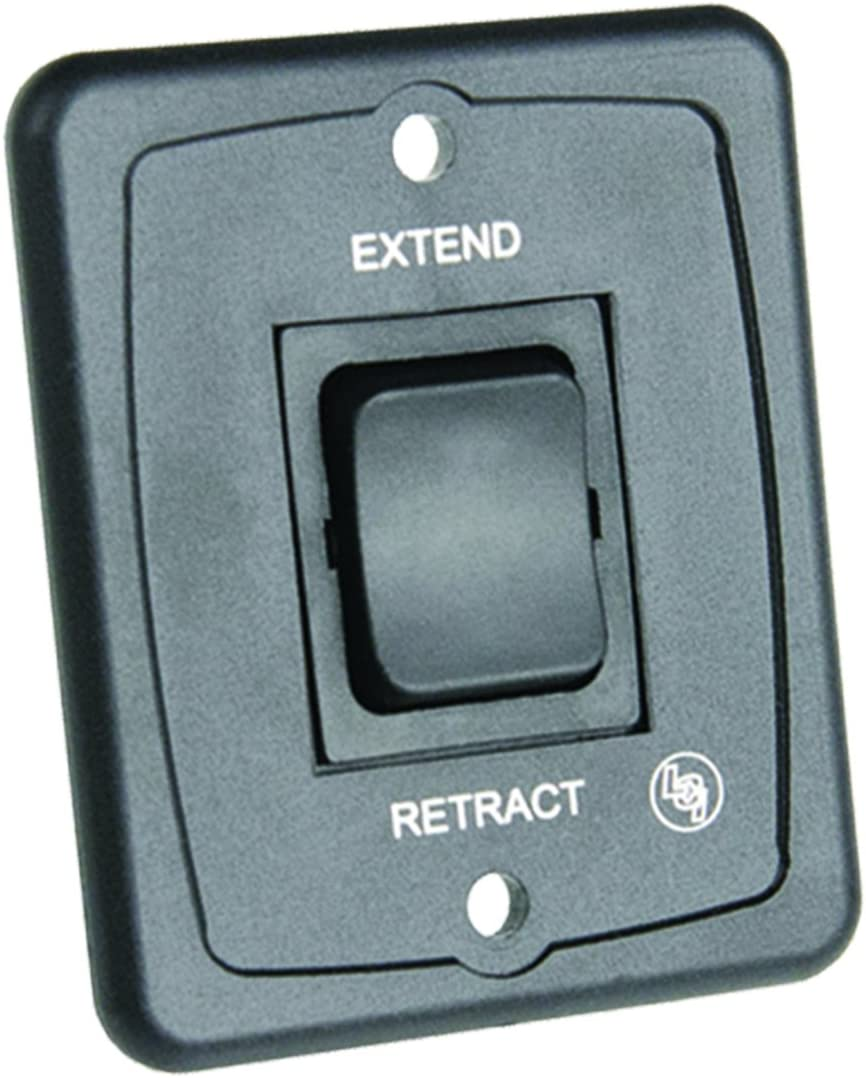 Black Interior Switch; 40 AMP with Plate