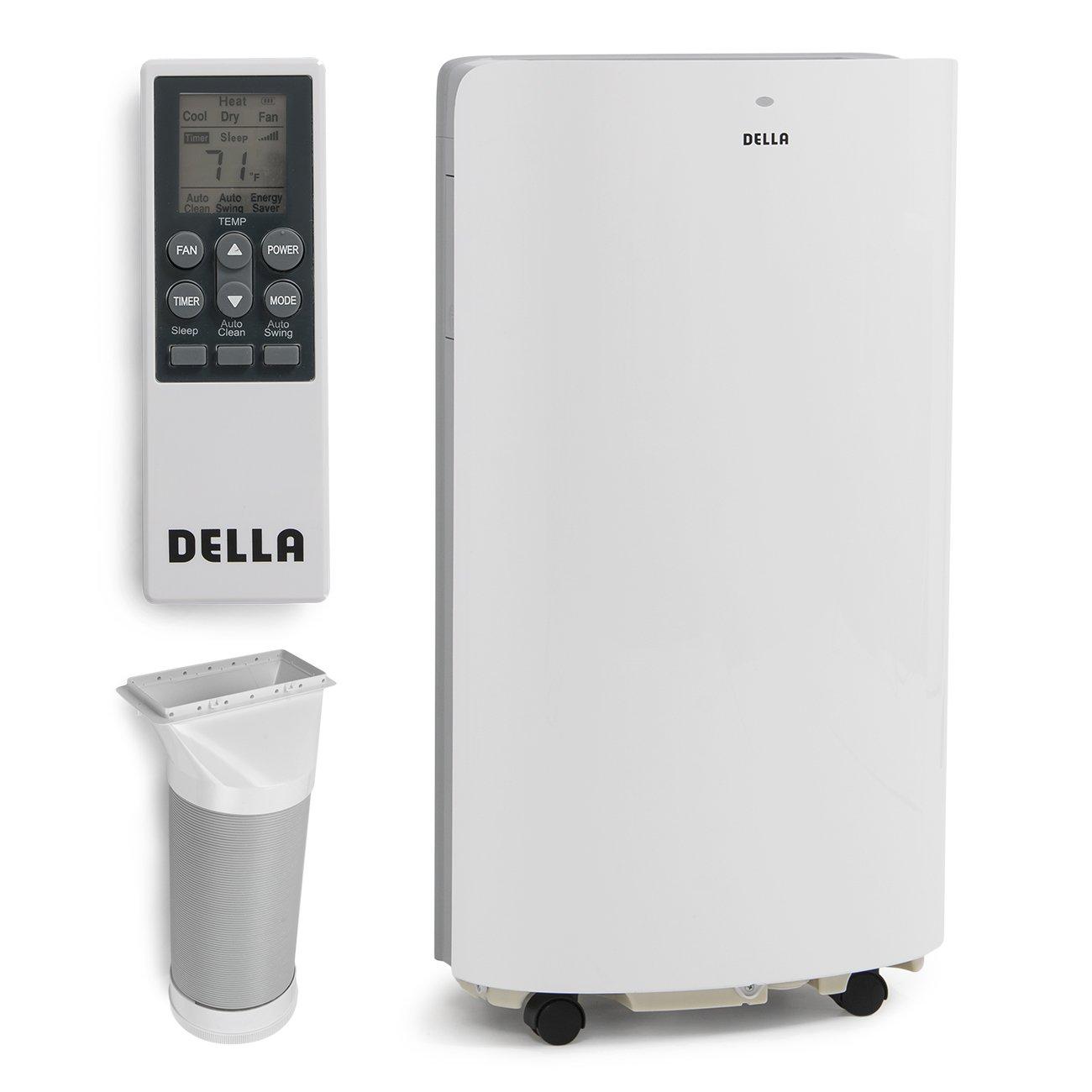Della 14,000 BTU Evaporative Portable Air Conditioner / Heater / Dehumidifier / Cooling Function LED Panel Control