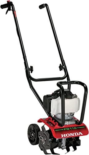 Honda FG110 9 25 cc 4-Cycle Middle Tine Forward-Rotating Gas Mini Tiller-Cultivator