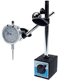 """Allstar ALL96414 0.001"""" to 1"""" - 0.001 Increment Dial Indicator with Magnetic Base"""