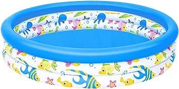 H2O GO! Coral - Piscina Redonda Hinchable para niños, 40 ...