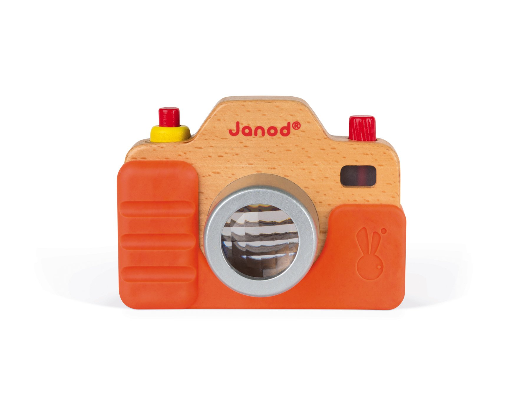 Janod Wooden Interactive Sound Camera Toy by Janod (Image #5)