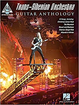 Book Trans-Siberian Orchestra Guitar Anthology (Guitar Recorded Versions) by Trans-Siberian Orchestra (2015-10-01)