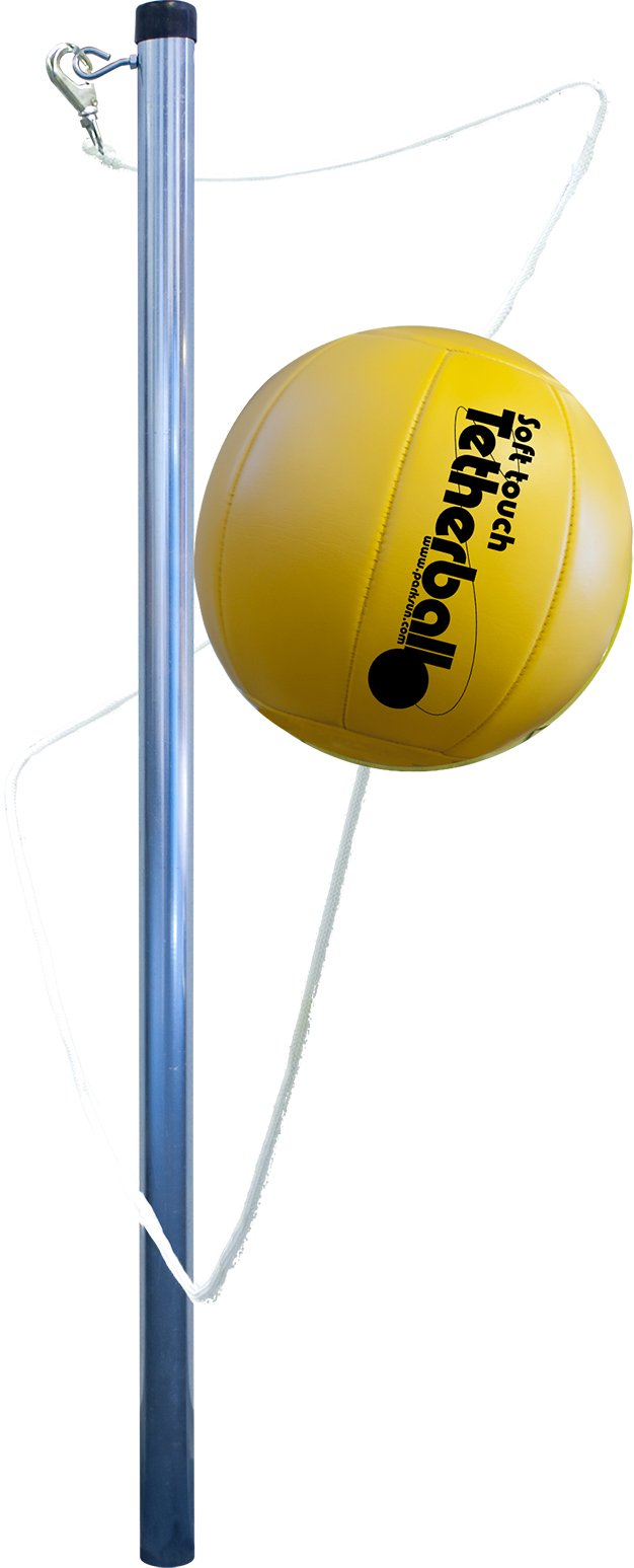 Park & Sun Sports Portable Outdoor Tetherball Set with Carrying Bag and Accessories (3-Piece Tri-Pod Base/Pole) by Park & Sun Sports