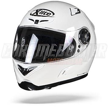 X-Lite X de 802rr Start Integral Casco Moto Ligero de Fibra – Blanco Tamaño