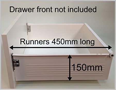 Replacement Kitchen Drawer Box (deep), Complete Kit Including Runners. FROM  £29.90