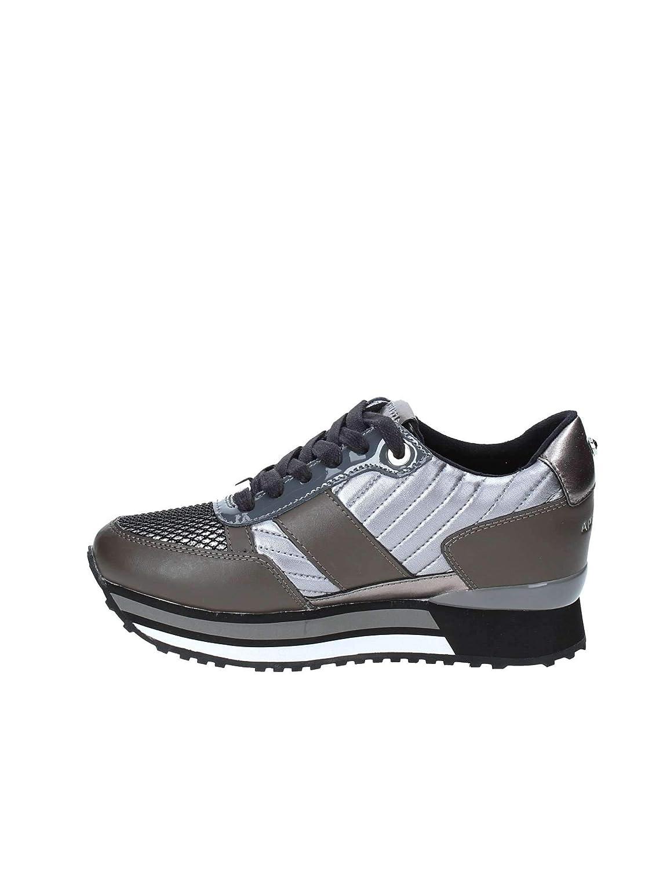 Apepazza Shoes Woman Low Sneakers with Internal Wedge RSD22 Matelasse Raya