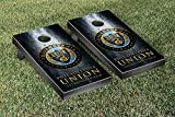 Philadelphia Union Zolos MLS Soccer Regulation Cornhole Game Set Museum Version