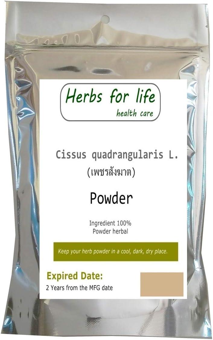 Cissus Quadrangularis Powder Natural Herb Powder from Thailand 100-1,500 Grams (100 Grams)