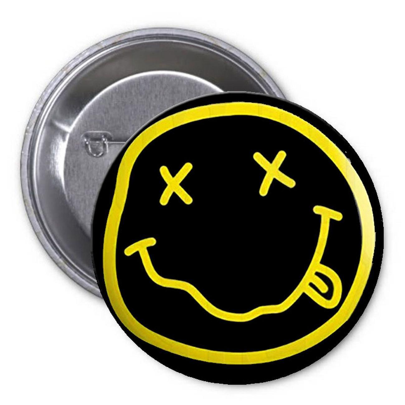 Nirvana Logo 125 Pinback Button Pin Music Rock