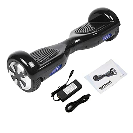 Amazon.com: Hotwheelz Hoverboard negro seguro Smart dos ...